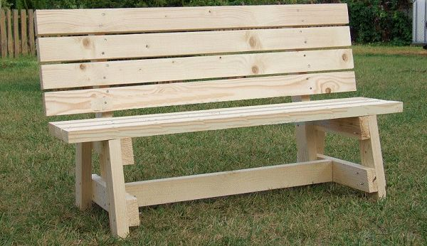 DIY garden seat