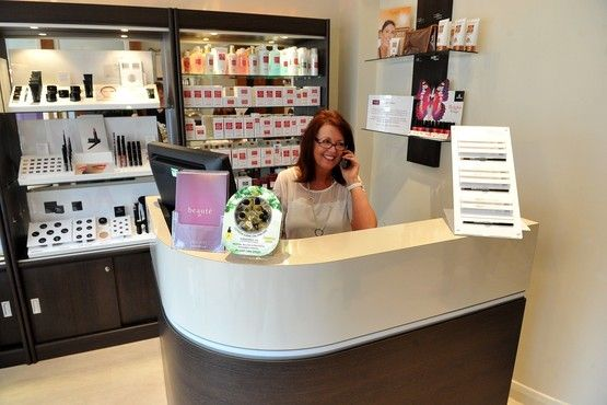 Prachtige balie entree salon pinterest salons for Abc beauty salon