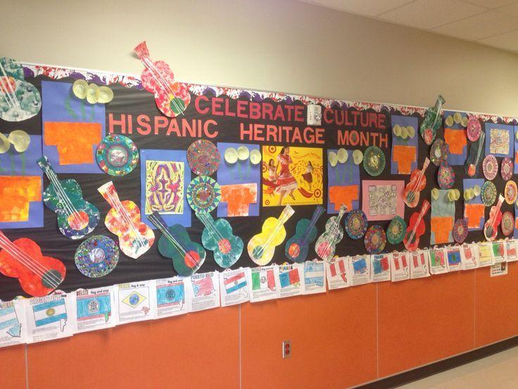 Modern Classroom Board ~ Best hispanic heritage month images on pinterest