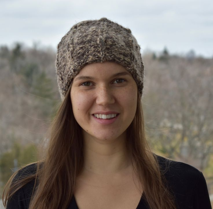 GINGER is a 100% wool headband, hand-knit in Toronto. The wool is undyed and came from two different coloured alpacas on a local Canadian farm. With high quality natural fibres, this headband is made to last for many winters! Lined with 100% cotton, this knitted winter headband will keep you warm even in the coldest winters. ($63 CDN)