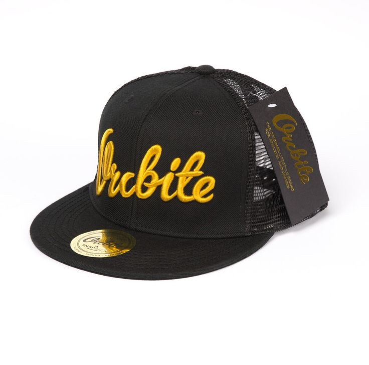 Orcbite - Trucker - Gold via Orcbite - The Original Lifestylebrand for Athletes and Gamers. Click on the image to see more!