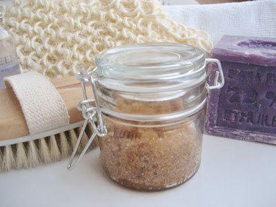 Exfoliante corporal casero / Homemade body scrub / Gommage du corps maison