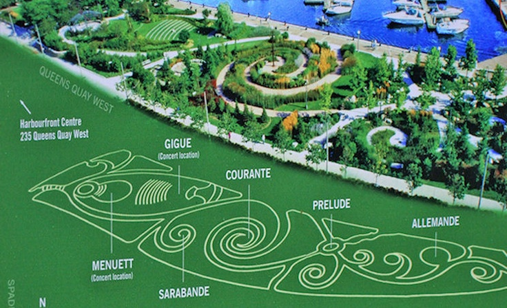 The Toronto Music Garden Created By Jmmds In