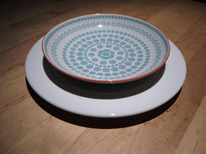 Assiettes casa home tableware pinterest for Assiette jardin d ulysse