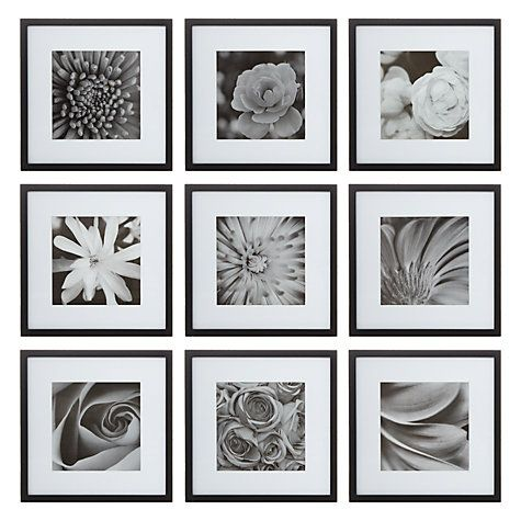Buy Nielsen Gallery Perfect Multi-Aperture Piece Frame, 9 Photo Online at…