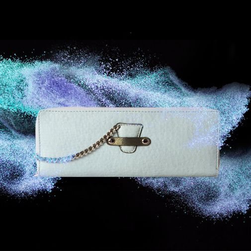 Inspired by nature's colour for water and sky, this trendy #blue #wallet has been meticulously created for you to enjoy the shade's essence. #Baggit