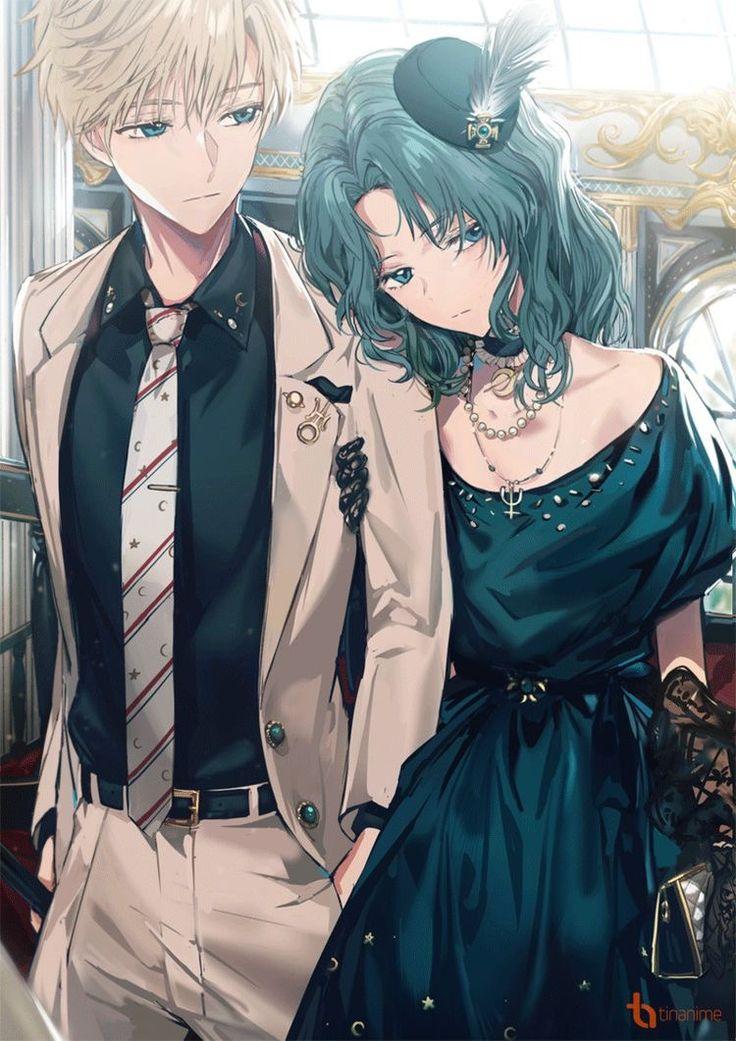 Pin oleh يوكى كنامى di Anime couple ️ di 2020 Sailor