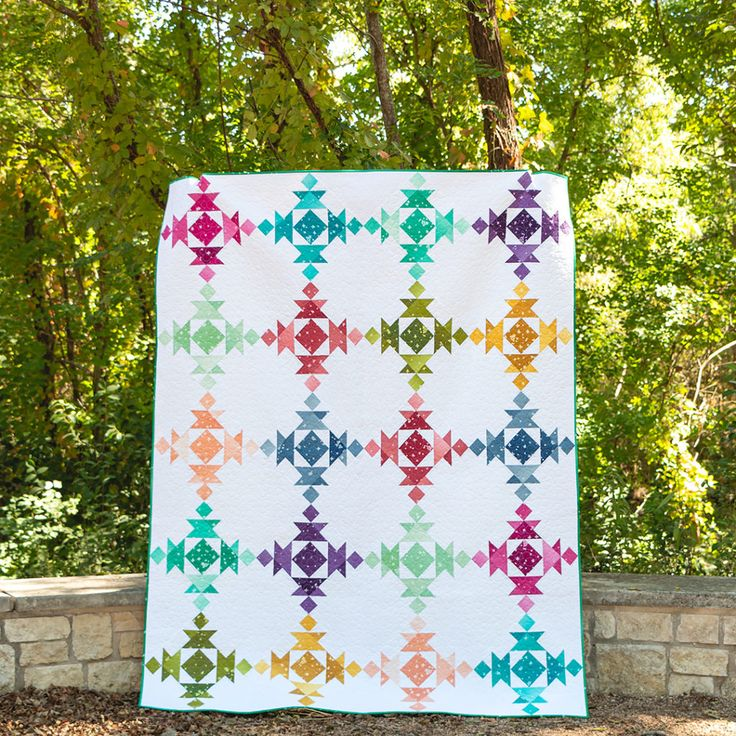 Broken Dishes: Make A Quilt With The Square On Square