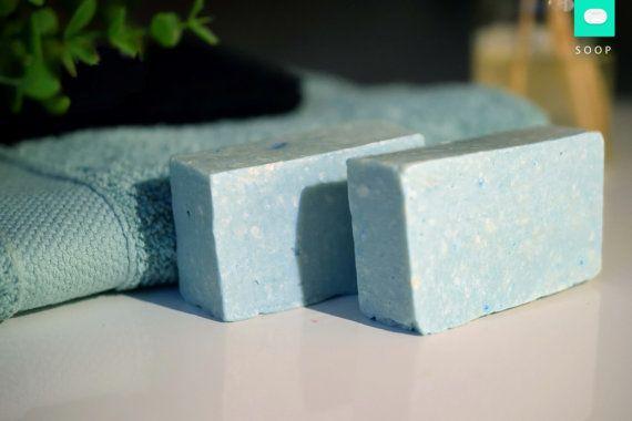Blue Coconut gastenzeepje  vegan zeep zelfgemaakte door SOOPStore