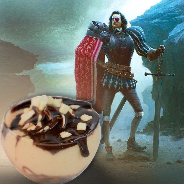 Knave of Hearts: O Φαντης ηταν ακόλουθος της Νταμα Κούπα και επικεφαλής του στρατού της. Τον Μεταμορφωσαμε σε ενα διαφορετικό προφιτερολ με κρέμα Bueno και σου γεμισμένα πραλινα μαύρης σοκολάτας!