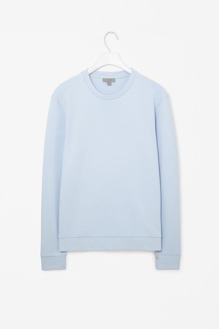 Zip-seam sweater