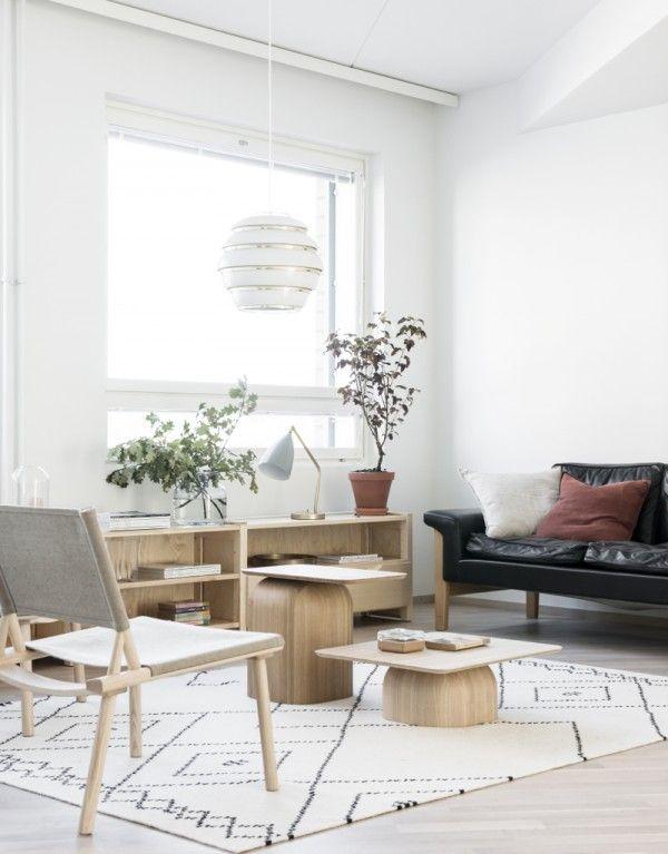 Le tapis scandinave 100 idées partout dans la maison