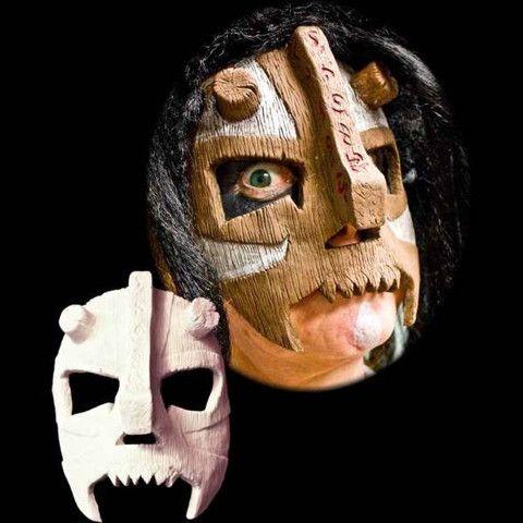 witch doctor voodoo latex halloween mask