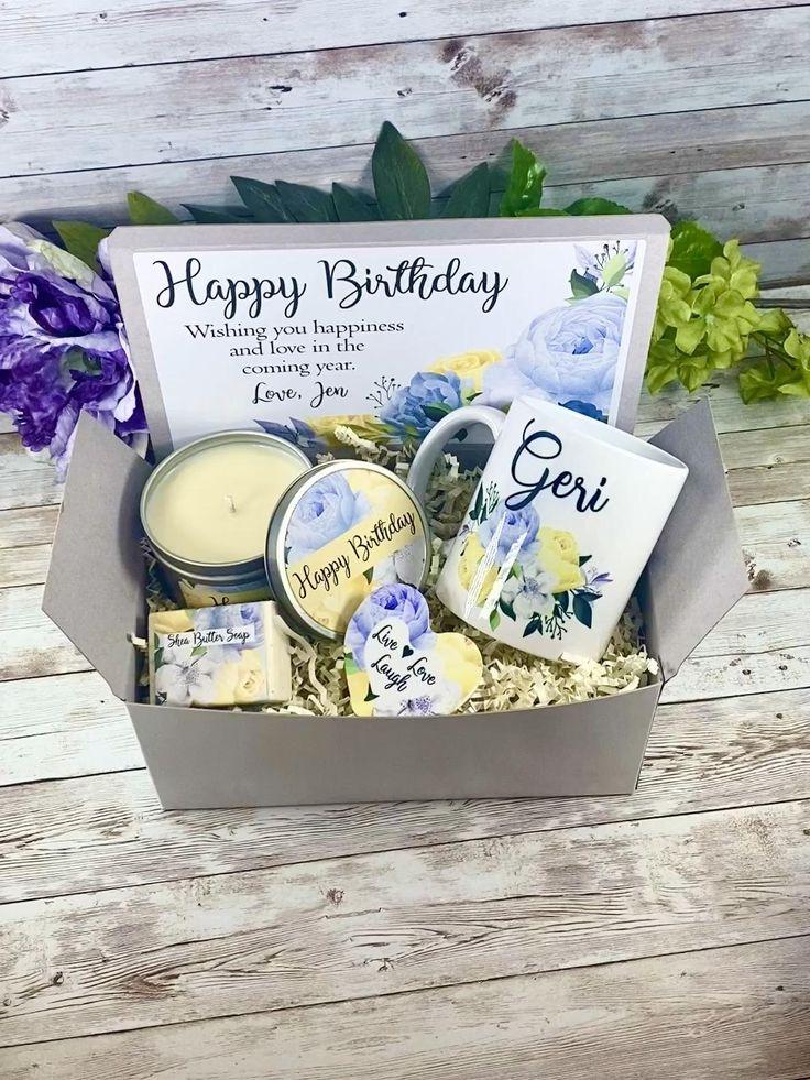 Birthday gift basket gift box for her birthday