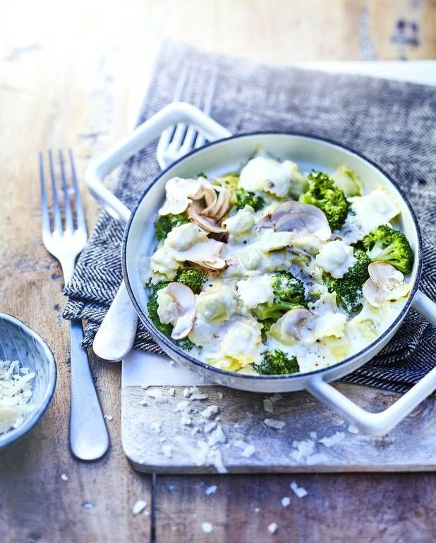 Ravioles de Romans et brocoli pour 6 personnes - Recettes Elle à Table
