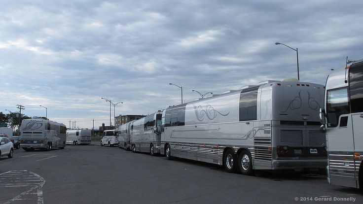 Senators Coaches Inc. - Prevost Motorhomes from Lady Gaga Tour