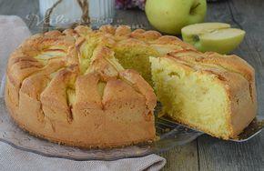 Torta mele sofficissima ricetta facile veloce e senza burro, un dolce dei ricordi, morbido e leggero che sa di casa, una ricetta classica e profumata