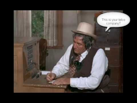 Green Acres Mr Haney Phone Company Youtube Does Mr