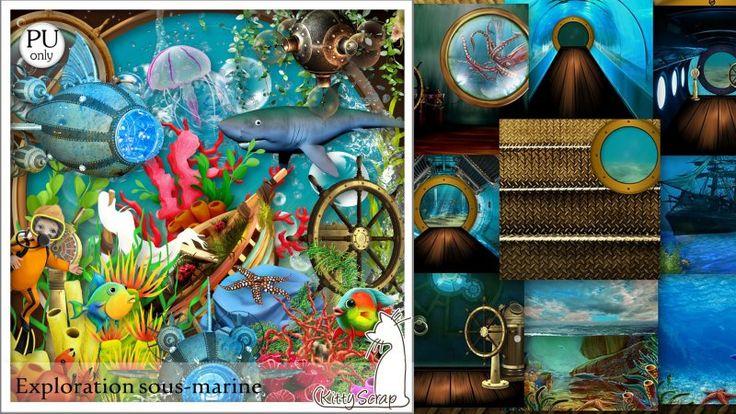 kit exploration sous marine by kittyscrap