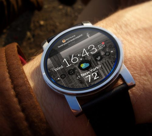 Android Wear UI Concept