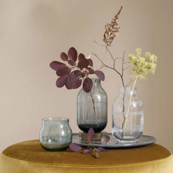 Omaggio Glass Tea Light Holder Green / Omaggio / New