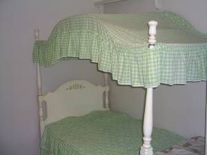 Canopy Beds. Had one my whole growing up years! My room was usually all pink. :)