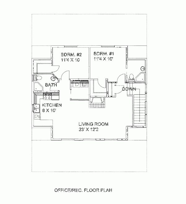 superior garage floor plans with living quarters #1: Barn garage with living quarters - Image 3 · Small House PlansCountry ...