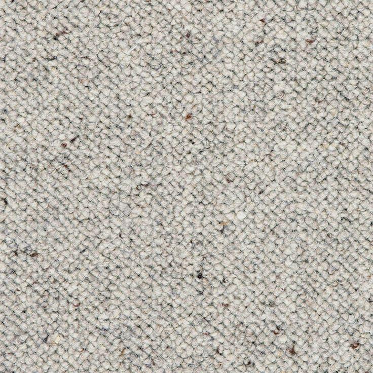 Auckland Wool Berber Carpet Grey