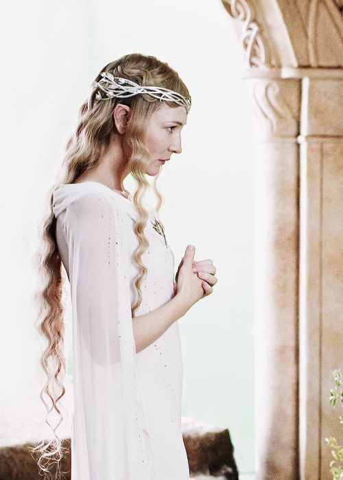 #Galadriel, Lady of Lothlorien (Cate Blanchett in The Hobbit: An Unexpected Journey)