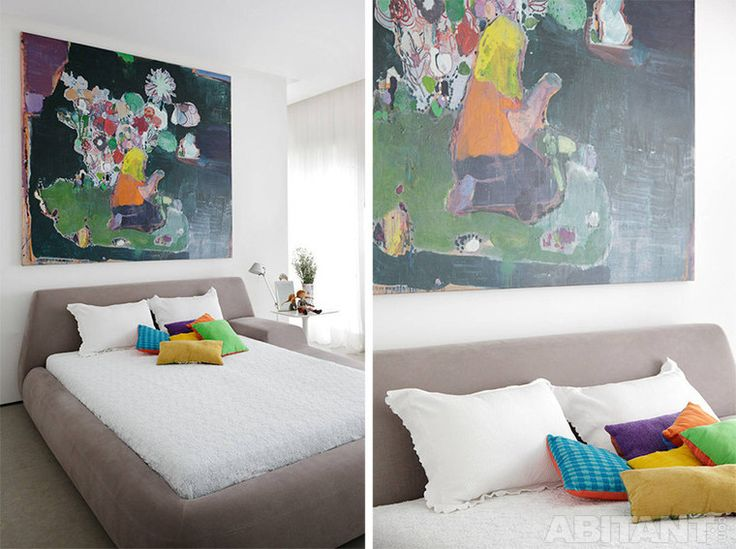 Арт-апартаменты в Сан-Паулу. Черно-белый дизайнерский интерьер от Консуэло Хорхе.
