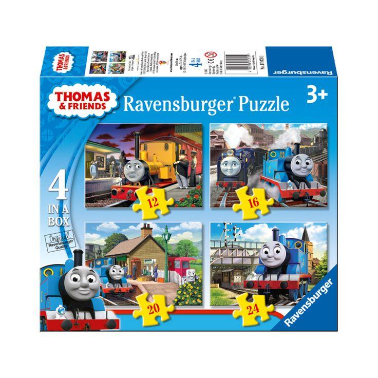 Thomas & Friends Puzzel, 4in1 online kopen | Lobbes.nl