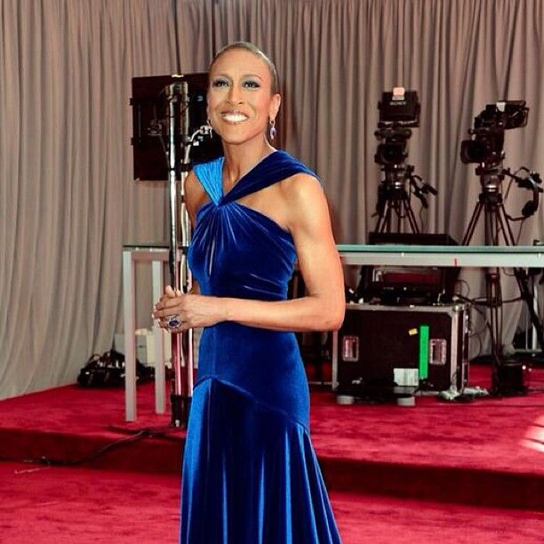 Robin Roberts, cancer survivor and Good Morning America Anchor looks stunning.