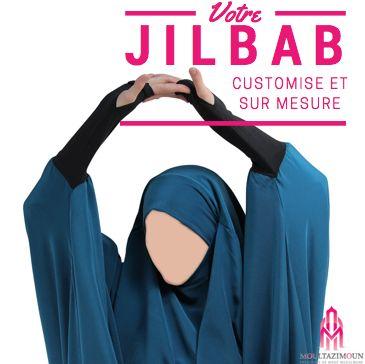 Jilbab sur mesure - Al Moultazimoun / #Overhead #khimar #jilbab #fur #cardigan #jilbab #best #abaya #modestfashion #modestwear #muslimwear #jilbabi #outfit #hijabi #hijabista #long #dress #mode #musulmane #clothing