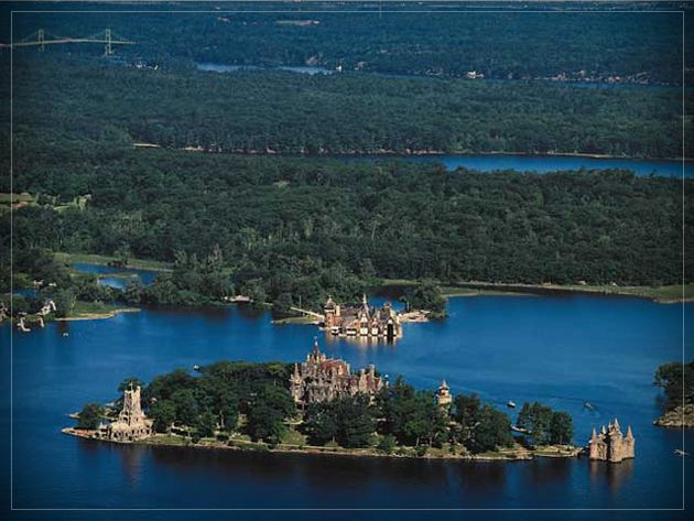 Been Boldt Castle Heart Island 1000 Islands Canada Ontario Usa Ny State George C Waldorf Astoria Hotel City Built During The