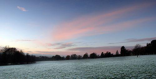 Eliot Slopes, Frosty Dawn, University of Kent | Flickr - Photo Sharing!