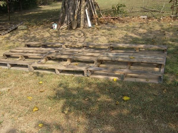 DIY Storage Shed From Pallets | 99 Pallets