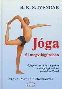 A Jóga új megvilágításban a világ legnagyobb és legismertebb jógaoktatójának klasszikus műve, amely az alábbiakat tartalmazza: Bevezetés a jóga bölcseletébe és gyakorlatába; Több, mint 200 testtartás részletes bemutatása; A lelki nyugalom kialakításának technikái légzőgyakorlatok segítségével; Több, mint 600 fénykép a testtartások és légzéstechnikák illusztrálására; Egy 300 hetes jógatanfolyam programja, mely a kezdő szinttől egészen a haladó szintekig terjed; Gyakorlatok és testtartások ...