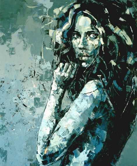 Anna Bocek. Great texture. Great color pallet