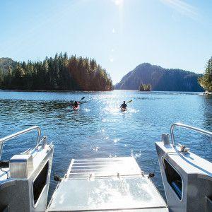 Exploring the Broughton Archipelago!  Nimmo Bay Resort, BC, Canada