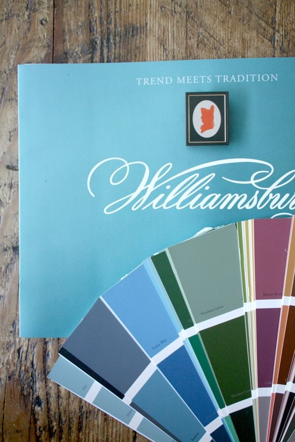 203 best Williamsburg Color Collection images on Pinterest