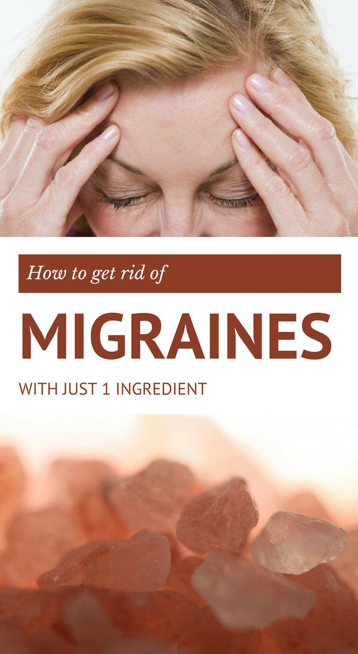 Here is how to get rid of migraines with just 1 ingredient.