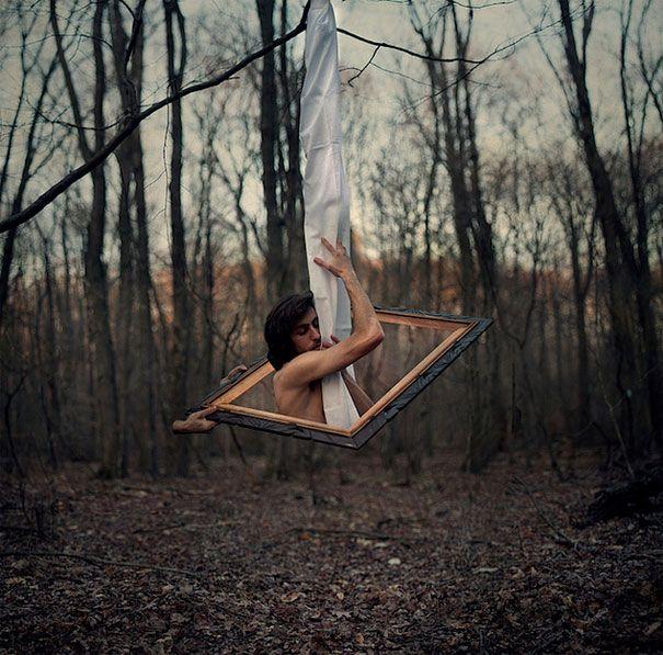 Surrealistas Manipulaciones Fotográficas por Kevin Corrado - Portal Que Pasa - Queremos Matar Tu Aburrimiento