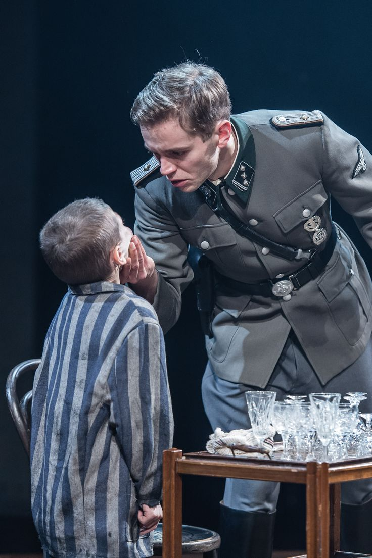 The Boy In The Striped Pyjamas | http://www.blackpoolgrand.co.uk/shows/performance/boy-in-striped-pyjamas | Colby Mulgrew as Shmuel and Ed Brody as Kotler