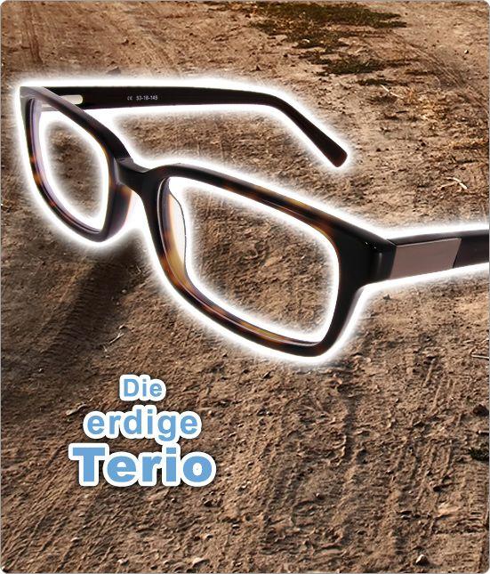 Für Bodenständige: Wer Brauntöne mag, der wird die erdige Terio lieben! Schmales Gestell mit schicker Musterung, was will man mehr? #brillen #myspexx #mode