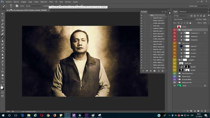 Convertir Fotos a Escenas de Accion en PhotoShop   Gadgets Fácil