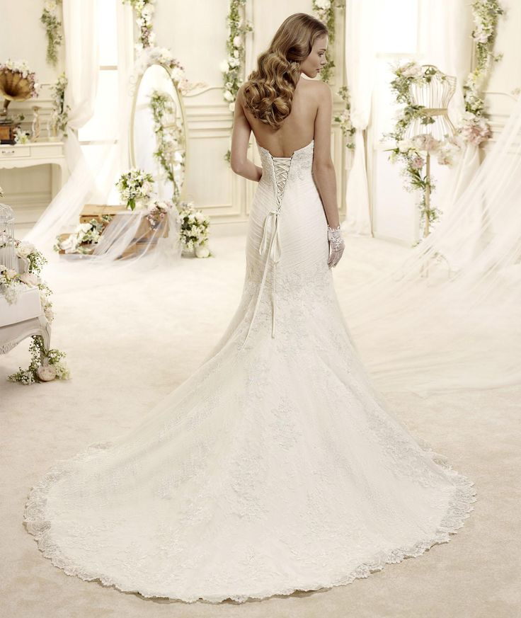 #Colet #2015Collection #weddingdress #nicolespose ► http://www.nicolespose.it/it/abito-da-sposa-Colet-Elba-COAB15205DI-2015