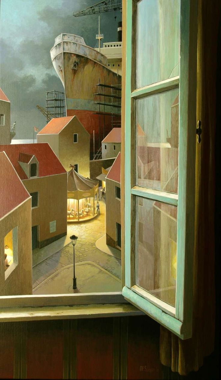 Michiel Schrijver - What evening wants to say. 120 x 70 cm. 2011