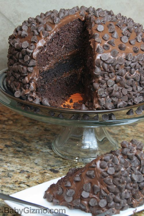 death by chocolate brownie cake