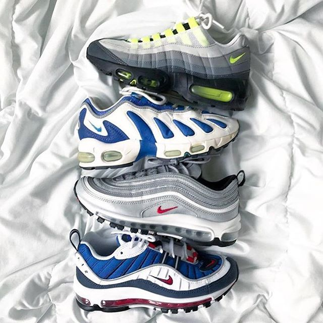 Which Air Max model is your favorite of these? 95 96 97 or
