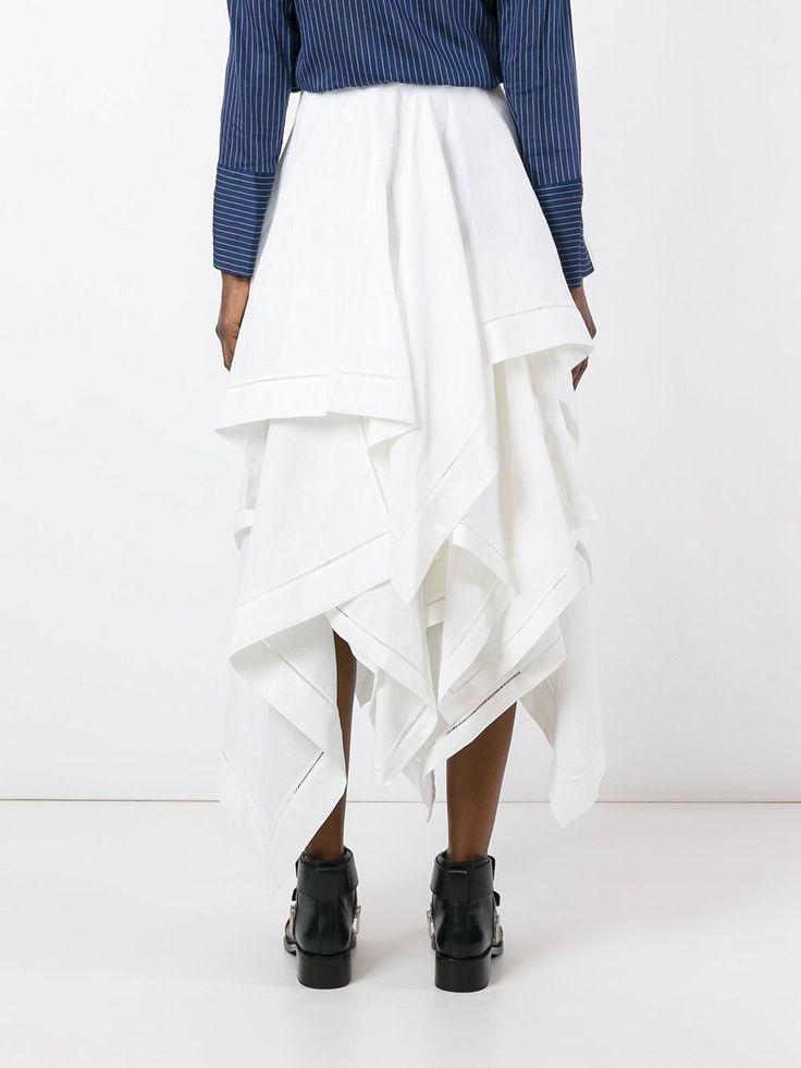 J.W.Anderson длинная юбка с рюшами